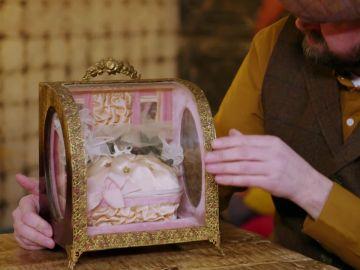 ¿Para que se usara esta caja de boda de la antigüedad?