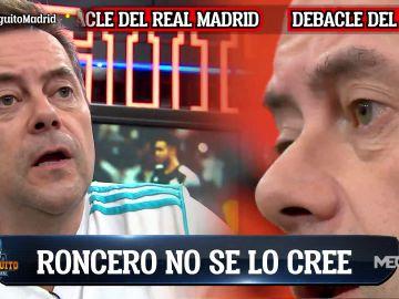"""TOMÁS RONCERO TRAS LA DERROTA DEL REAL MADRID: """"VAYA BOFETADA NOS HEMOS LLEVADO"""""""
