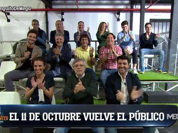¡VUELVE EL PÚBLICO AL PLATÓ DE EL CHIRINGUITO!