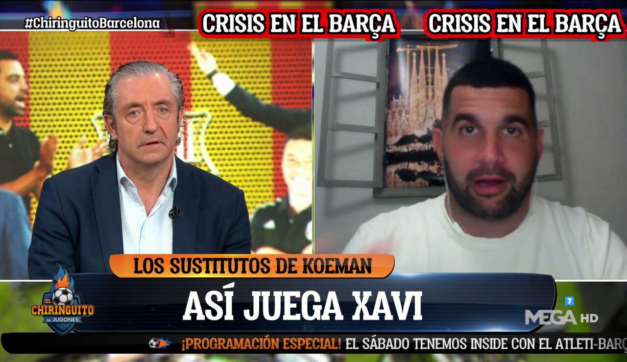 """JOSÉ ÁLVAREZ: """"LAPORTA NO VE CAPACITADO XAVI"""""""