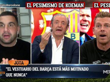 """""""EL VESTUARIO ESTÁ MÁS MOTIVADO QUE NUNCA DE CARA AL CLÁSICO"""""""