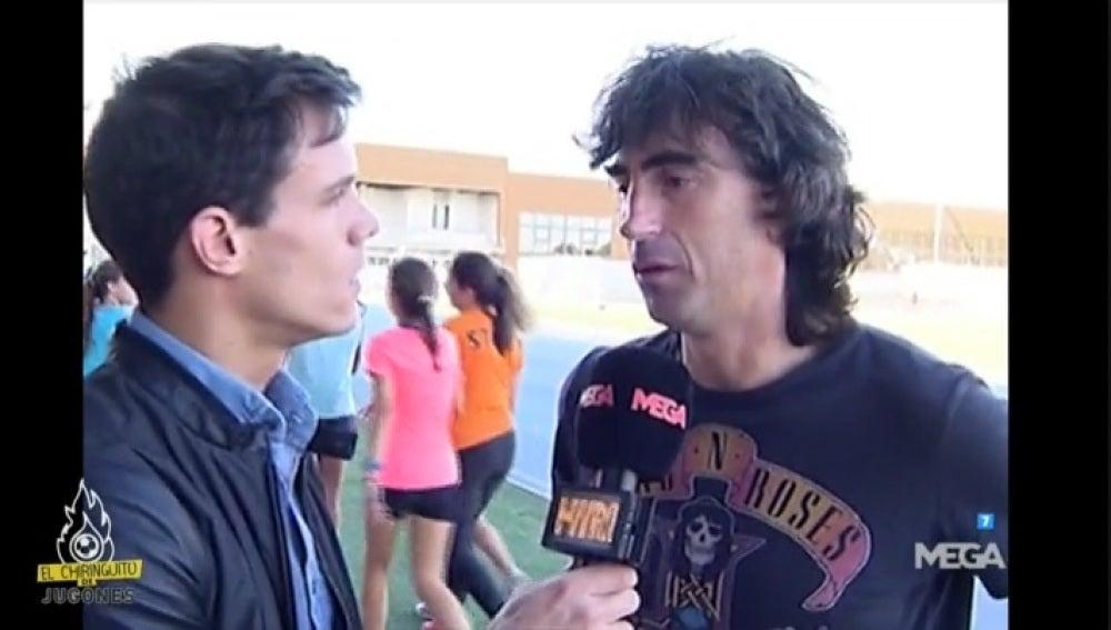 Edu Aguirre con Amavisca