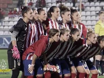 El Atleti Féminas hace historia al jugar su primer partido de Champions League.