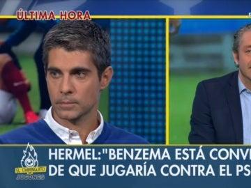 José Luis Sánchez y Josep Pedrerol