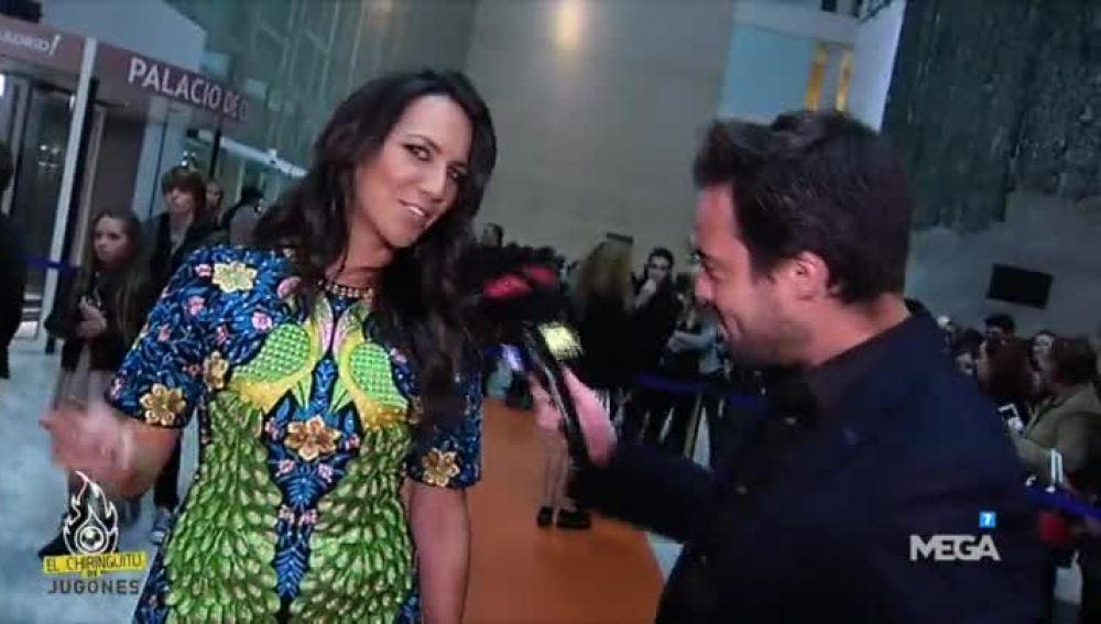 Nacho Peña e Irene Junquera, en la gala de los Neox Fan Awards 2015.