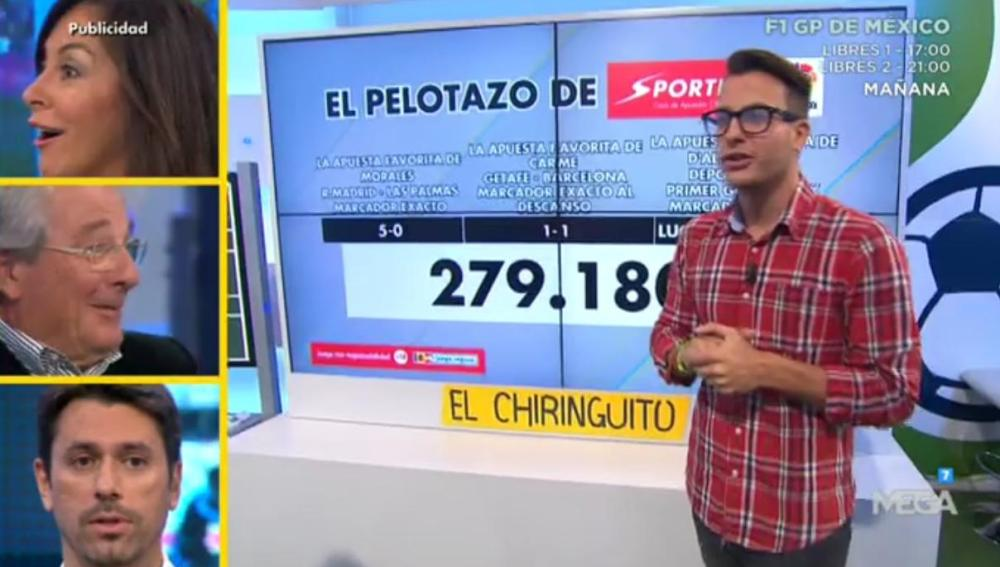 Juanfe Sanz en El Pelotazo