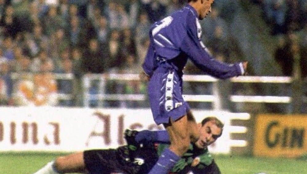 Raúl González Blanco en su debut