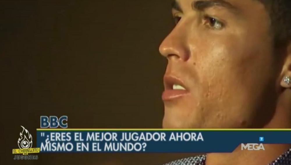 Cristiano Ronaldo en la BBC