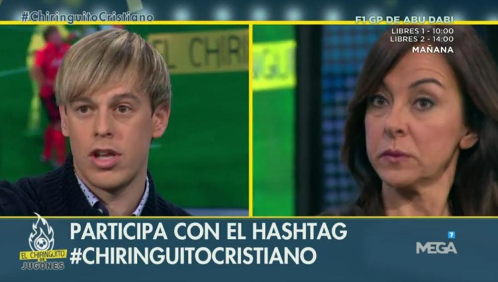 Javi Lara y Carme Barceló