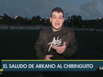Arkano en El Chiringuito