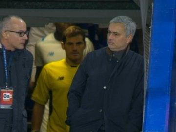 Mourinho y Casillas