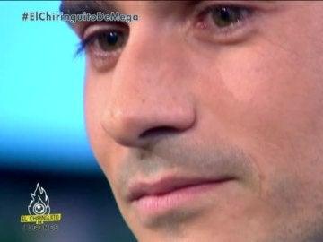 Álvaro Benito se emociona al recordar su calvario con las lesiones en 'El Chiringuito de Jugones'.