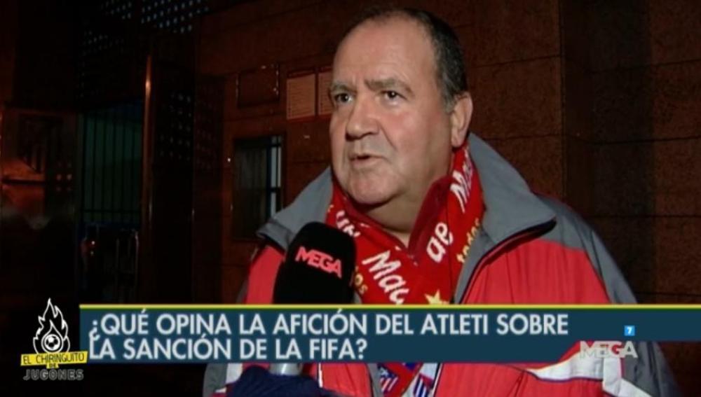 Encuesta a los aficionados del Atlético