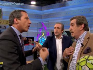 Cristóbal Soria, Josep Pedrerol e Iñaki Cano