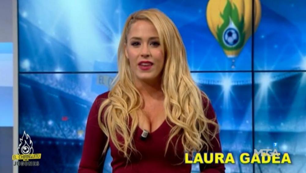 Laura Gadea en El Chiringuito