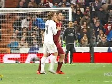 Modric y Totti