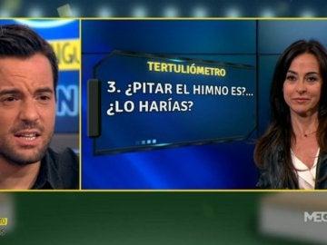 Carme Barceló y Nacho Peña