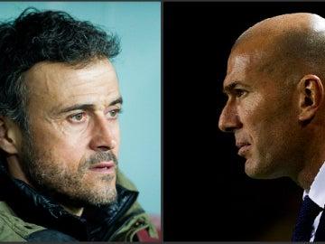 Luis Enrique y Zidane