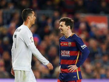 Messi y Cristiano se cruzan en el Clásico