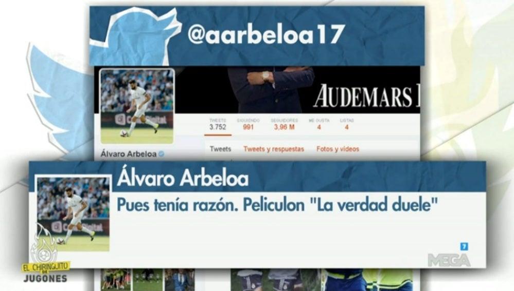 Tweet Arbeloa