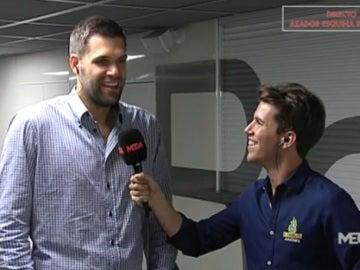 Entrevista Felipe Reyes