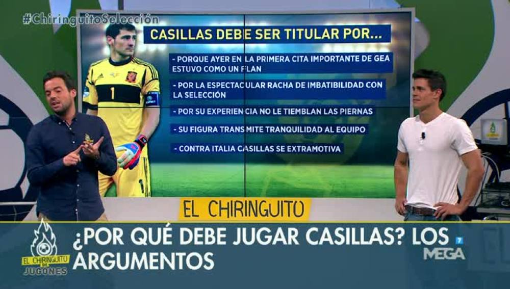 Casillas o De Gea