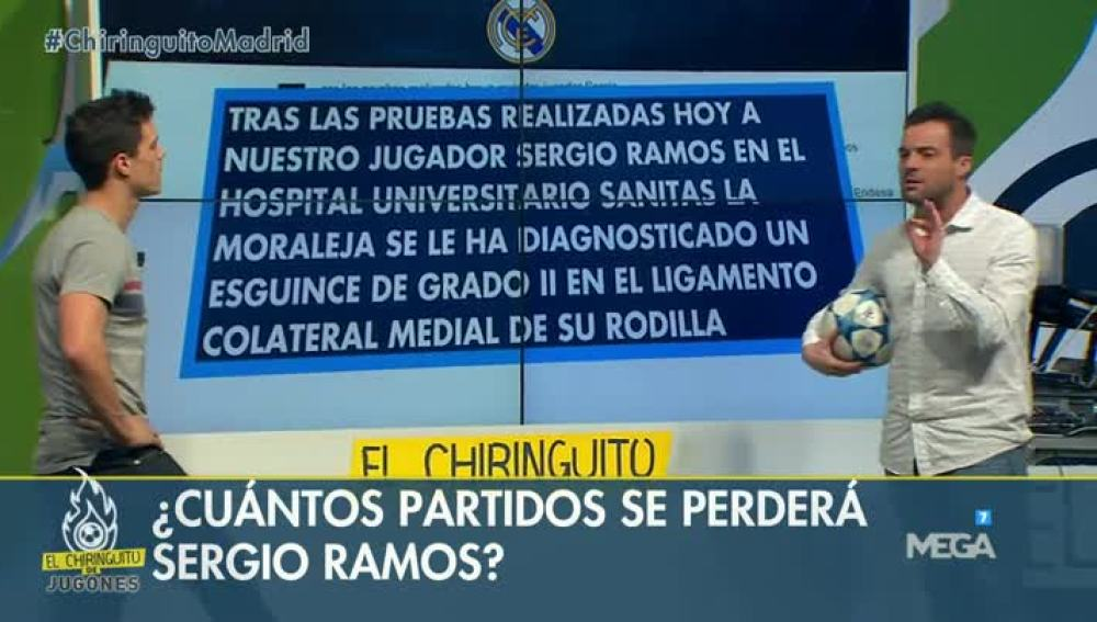 Edu y Nacho sobre Ramos