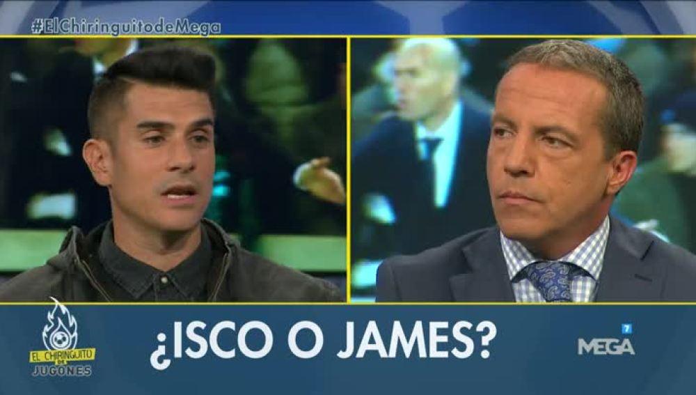 ¿Isco o James?