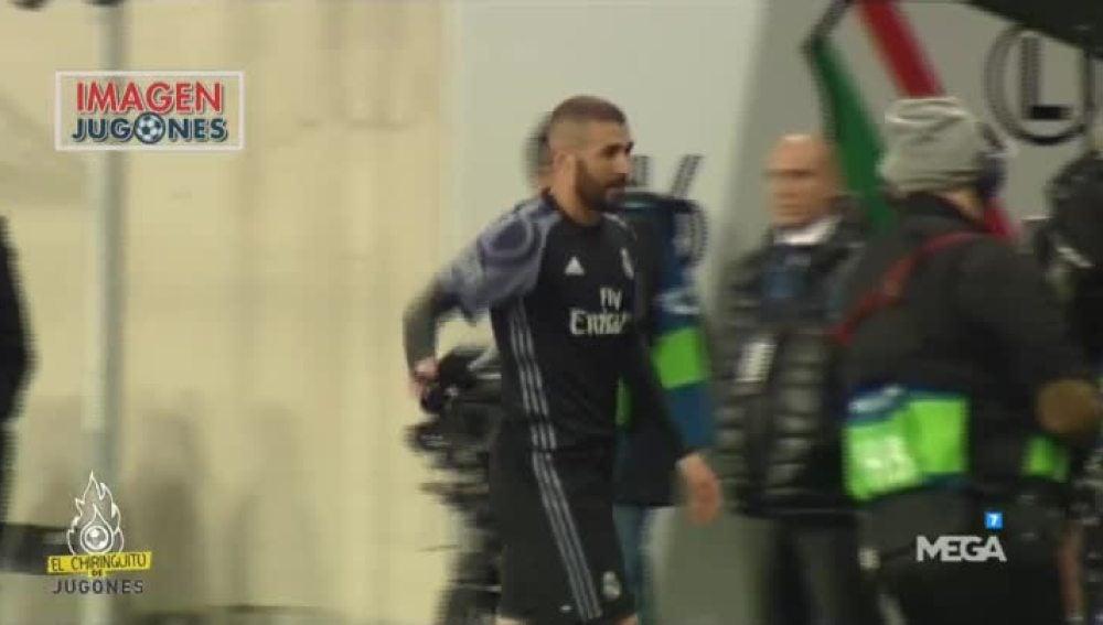 ¿Hay enfado de Benzema?