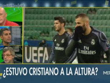 El empate del Madrid, a debate