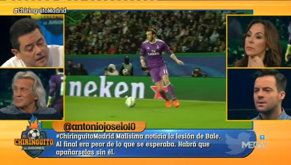 La baja de Bale, a debate