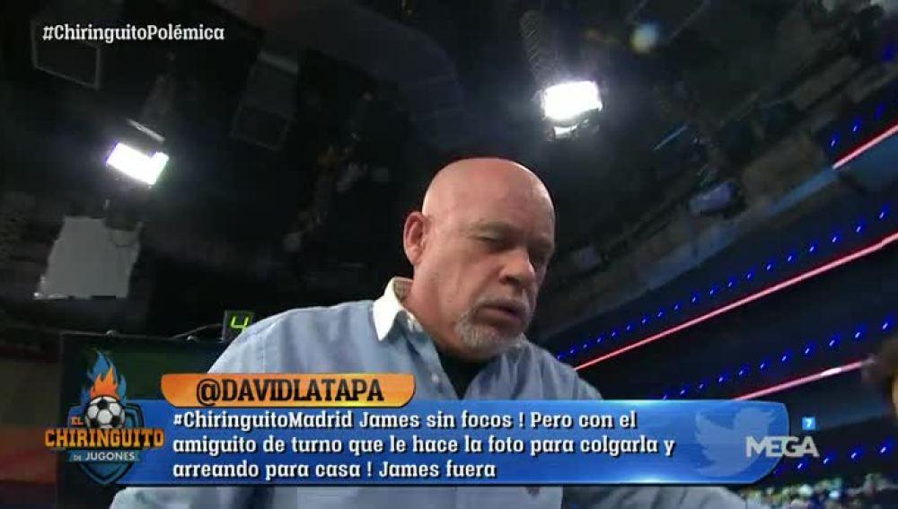 Ataque de tos de Alfredo Duro