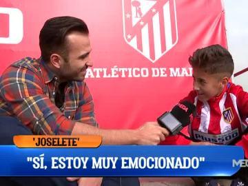 Fran Campos, con Joselete