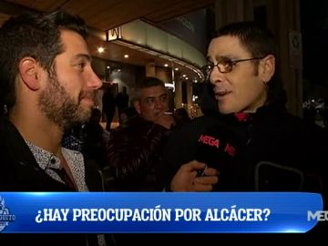 ¿Hay preocupación por Alcácer?