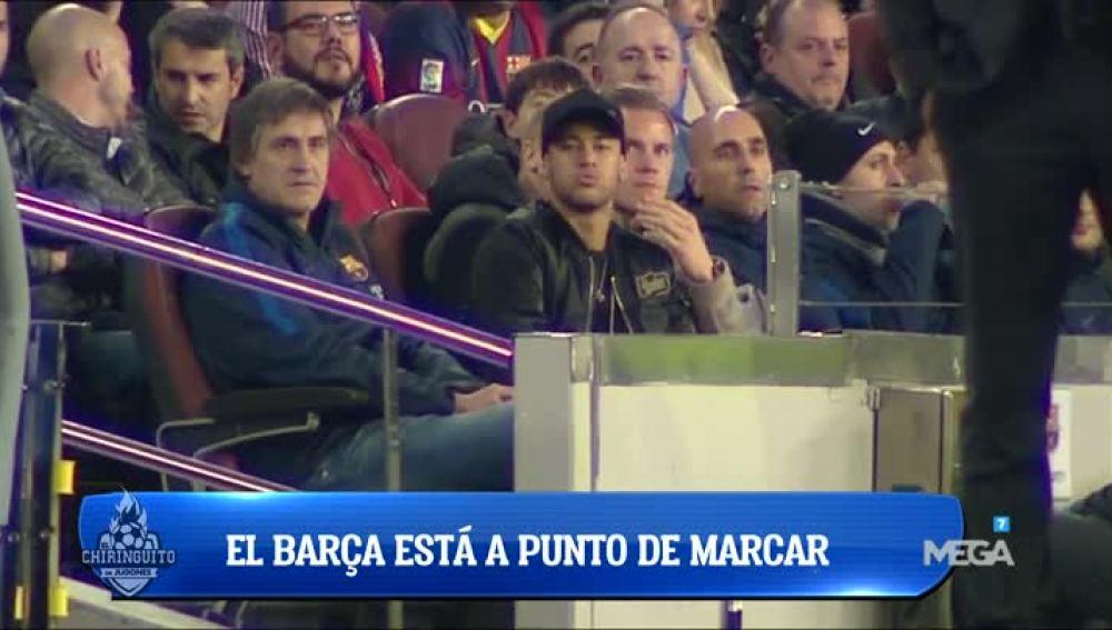 Seguimiento a Neymar