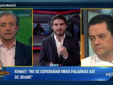 Nicolás Romay en El Chiringuito