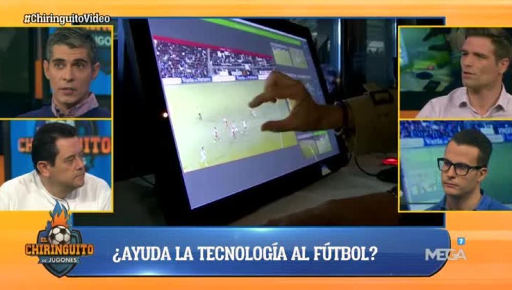 Debatimos la tecnología en el fútbol