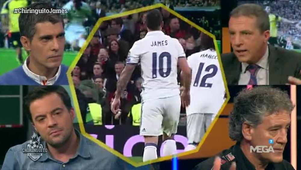 La situación de James, a debate
