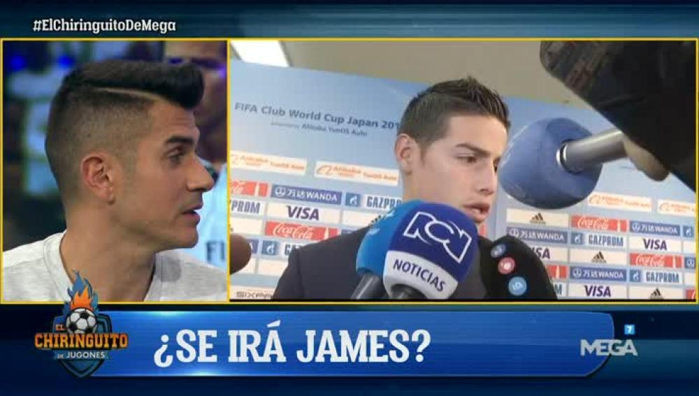 Álvaro Benito, sobre James Rodríguez