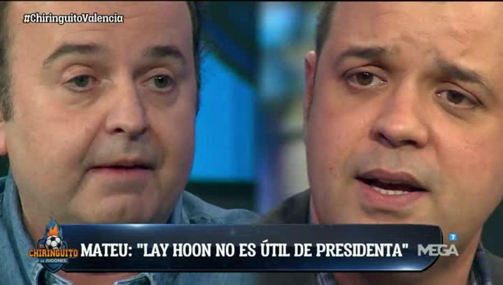 La situación del Valencia, a debate