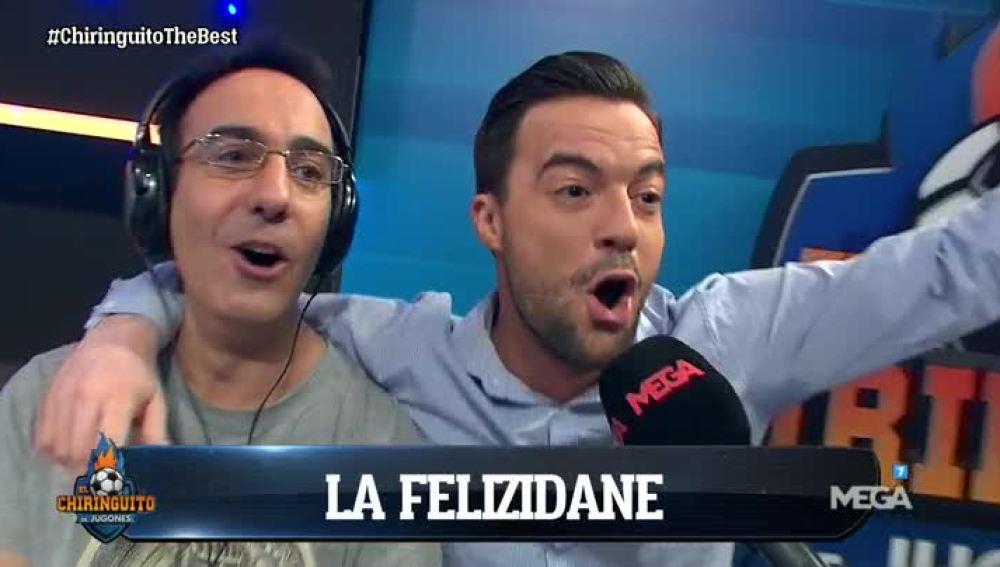 La Felizidane, el nuevo hit de Nacho Peña