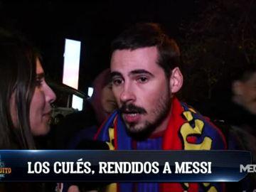 Los culés, rendidos a Messi