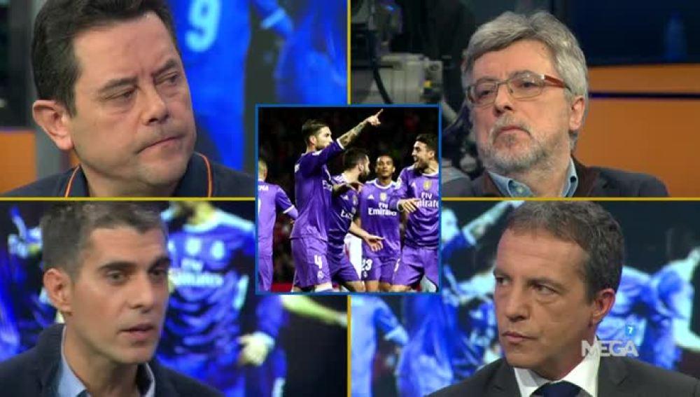 Debate sobre los gestos de Ramos