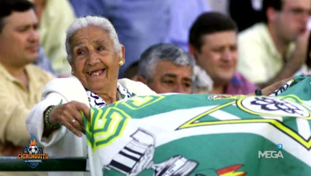 Muere la abuela del Betis