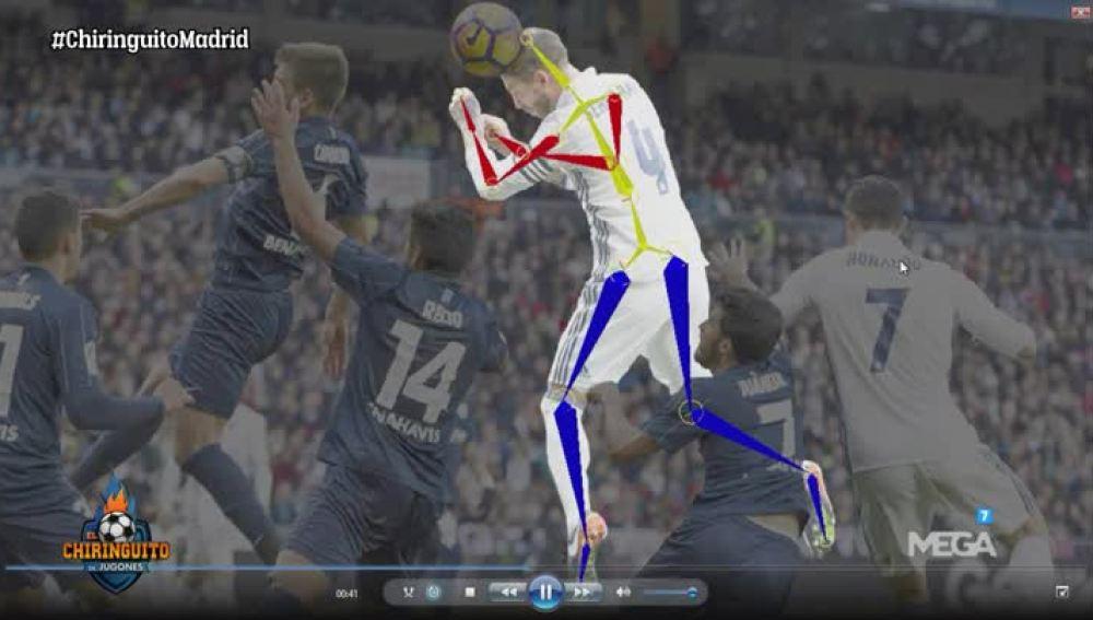 El gol de Ramos, analizado
