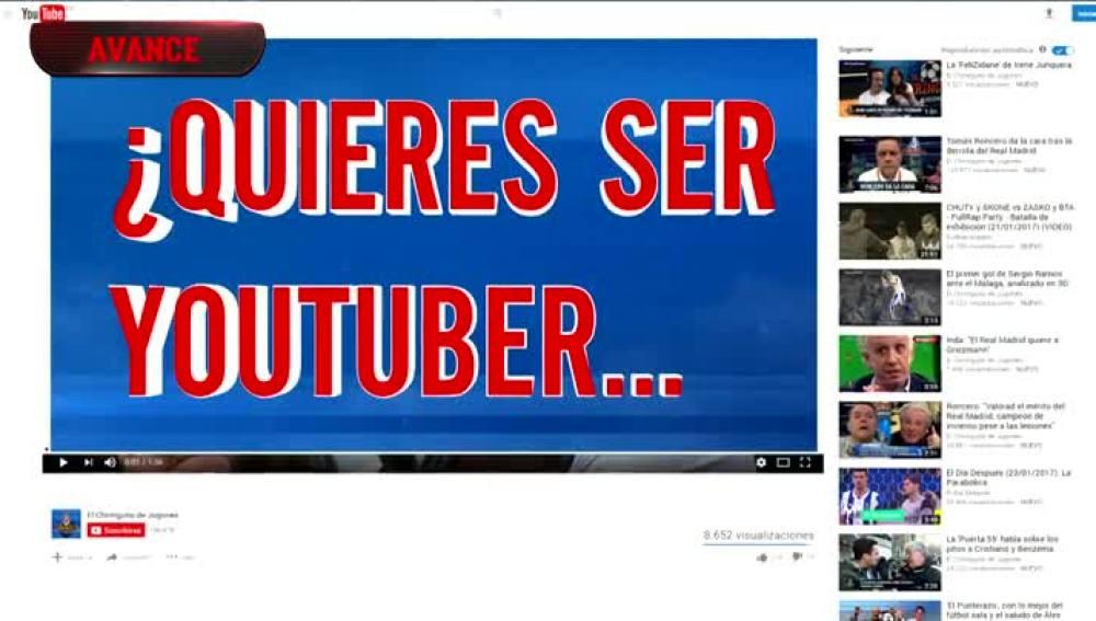 ¿Quieres ser el Youtuber de El Chiringuito?