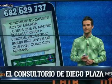 El consultorio de Diego Plaza