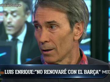 Lobo Carrasco sobre Luis Enrique