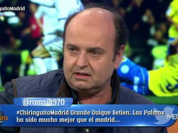 Juanma no ve bien al Real Madrid
