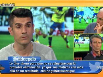 Álvaro Benito, tajante sobre el Real Madrid